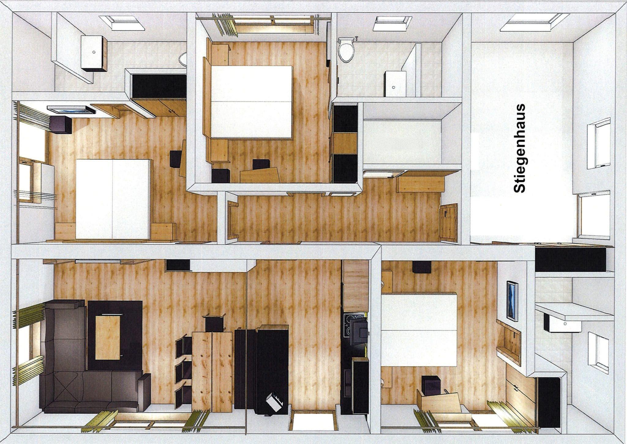 Kitz-Alpen-Lodge-Ferienwohnungen-Appartements-Klausenstein-Gutshof-Hollersbach-Pinzgau
